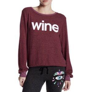 Wine Wildfox Jumper